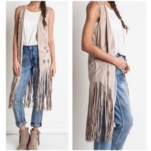 Jackets & Blazers - Boho vest with reviews